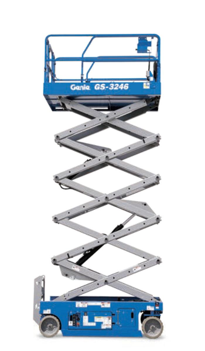 2646 & 3246 Genie Scissor Lift